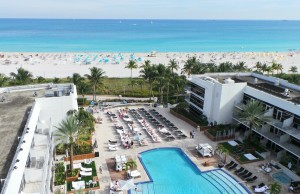 View From Ritz Carlton South Beach