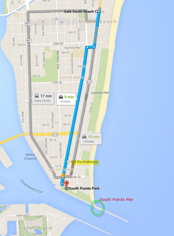 South Beach Interactive Map