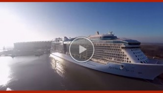 Anthem of the Seas GoPro Drone Video