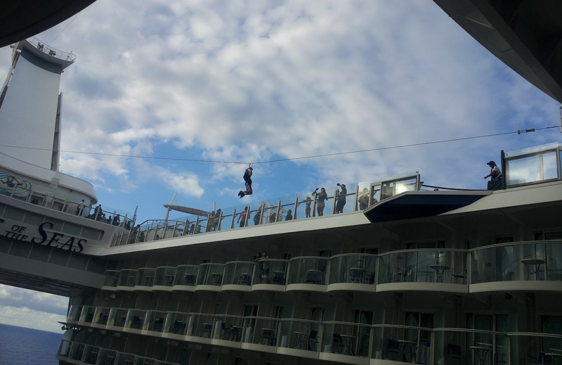 Allure of the Seas Zipline