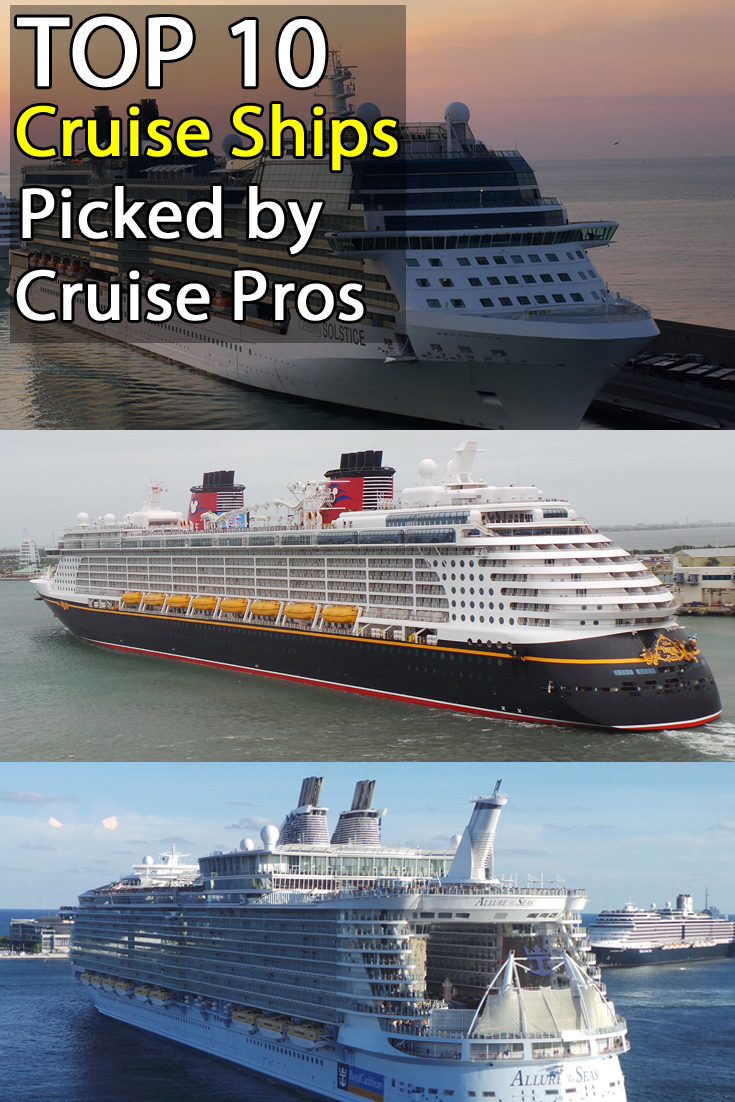 31 excellent top of the line cruise ships
