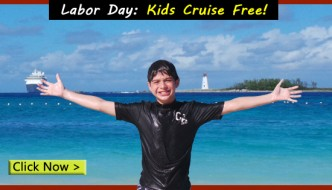 Kids Cruise Free: Labor Day Cruise Deals