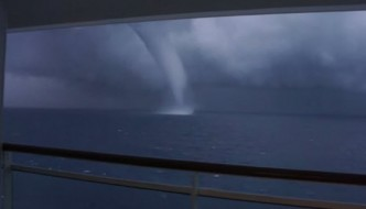 Cruise Ship Waterspout Videos