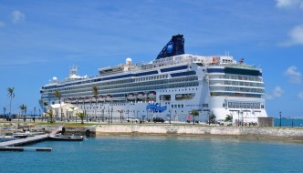 Norwegian Dawn Runs Aground in Bermuda