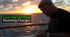 Cruise Ship Cell Phone Charges