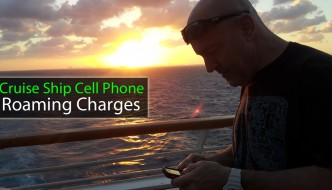 Cruise Ship Cell Phone Roaming Charges