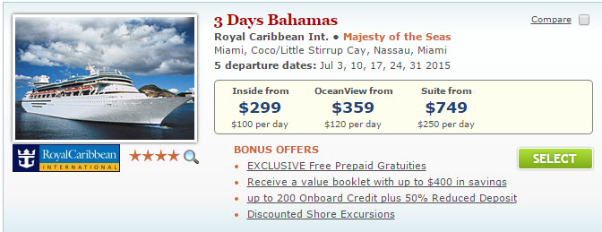 Last Minute 2015 Summer Cruise Deals Cruisesource